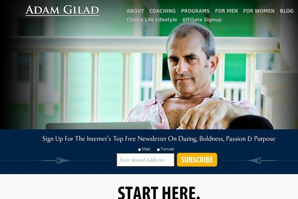 Adam Gilad online dating