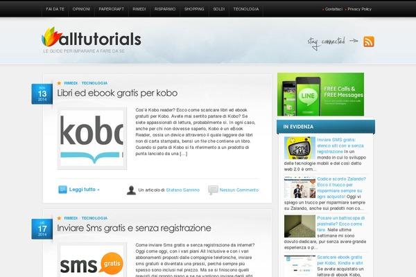 AllTuts WordPress theme, websites examples using AllTuts