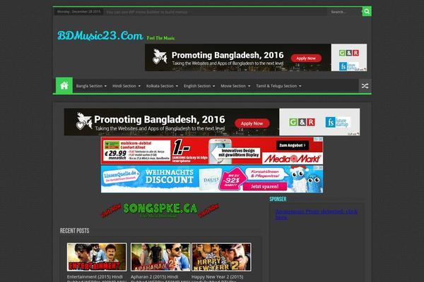 Sahifa WordPress theme, websites examples using Sahifa theme