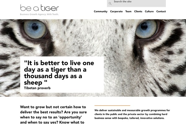 Be A Tiger Wordpress Theme Websites Examples Using Be A Tiger Theme Themetix Com Download Be A Tiger