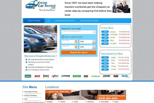Car Rental Websites >> Car Rental Theme 0 1 3 Wordpress Theme Websites Examples
