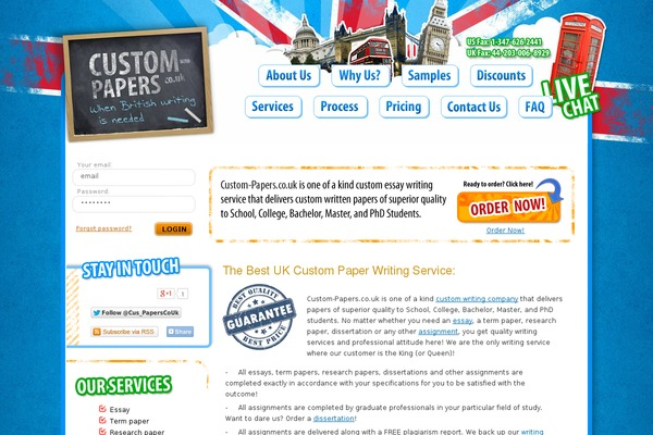 best custom term papers