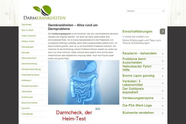 darmkrankheiten liste
