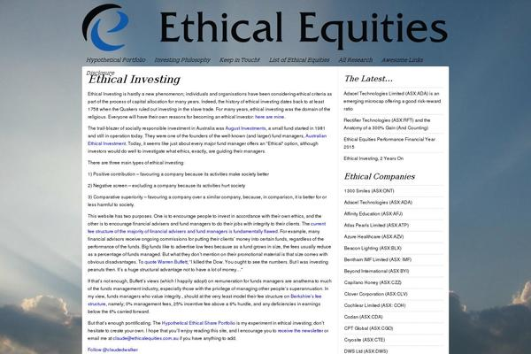 ethical company How can the answer be improved.