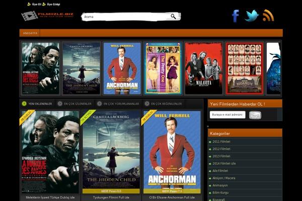 Film WordPress theme, websites examples using Film theme - themetix ...