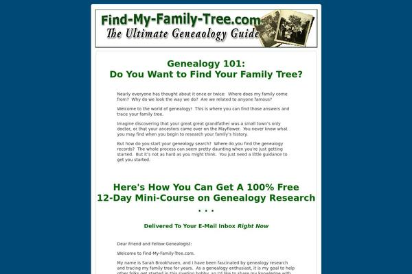 How To Create a Family Tree with WordPress - WP Solver