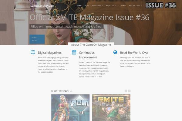 salient WordPress theme, themetix.com