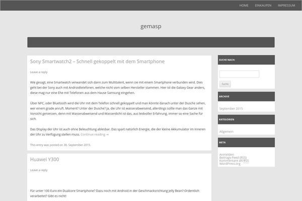 Utopia WordPress theme, websites examples using Utopia theme
