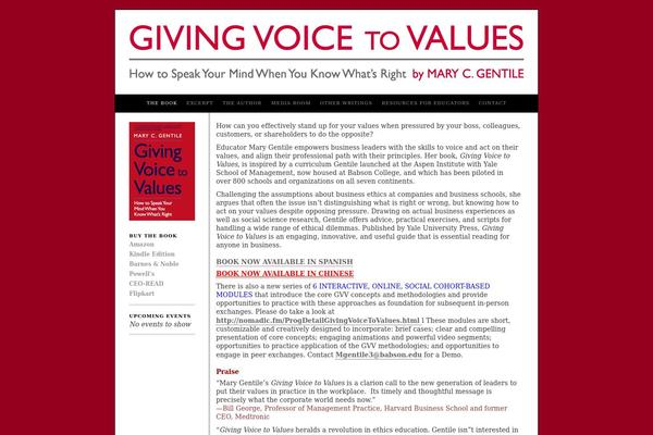 giving voice to values review autosaved
