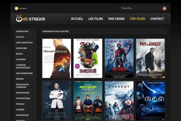 Film-streaming-vf WordPress theme, websites examples using Film ...
