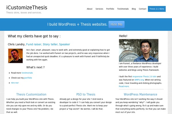 what is thesis wordpress Why i still love the thesis wordpress theme after i took the step the self-host my primary blog, the next step that greatly helped me increase earnings was choosing a highly-customizable theme.
