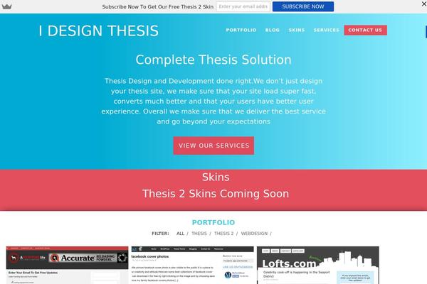 sites using thesis theme Title description keywords december 07, 2015 thesis gallery showcase | all thesis all the time a gallery of wordpress sites using the popular thesis theme.