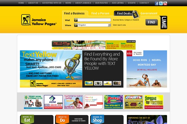 YellowPages WordPress theme, websites examples using YellowPages ...