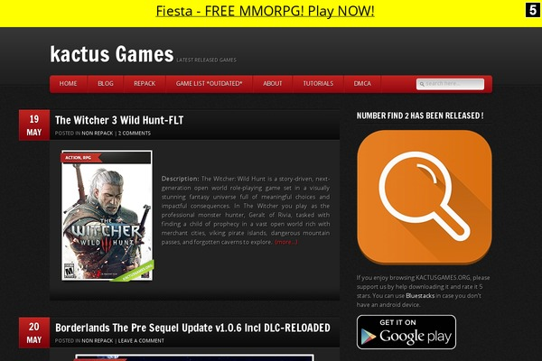 GamePress WordPress theme, websites examples using GamePress