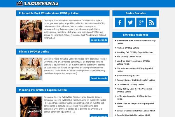 MicroBichoz WordPress theme, websites examples using