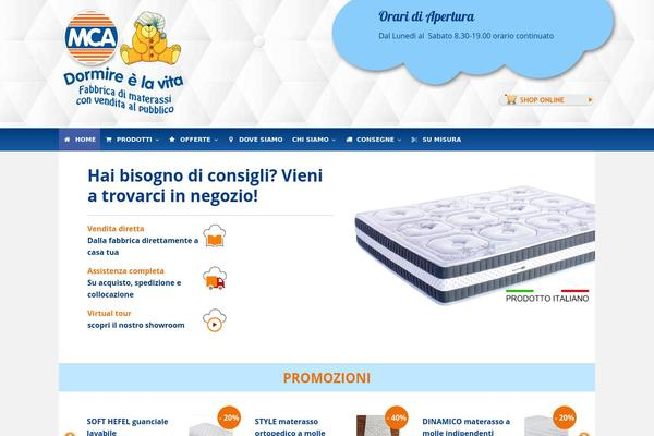 Materassi Mca.Mca Wordpress Theme Websites Examples Using Mca Theme Themetix