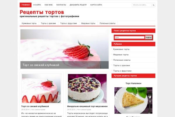 Сайты рецептов тортов с фото