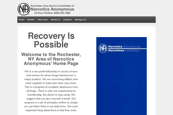 narcotics anonymous essay example Welcome to the _____ group of narcotics anonymous can we open this meeting with a moment of silence for the addict who still suffers na meeting format sample.