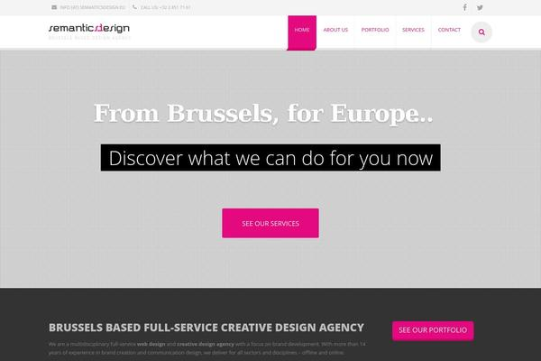 TemPlaza - WordPress Theme - Creative Website