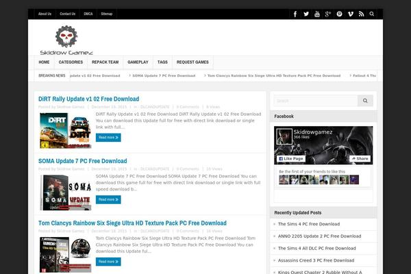 multinews WordPress theme, themetix.com