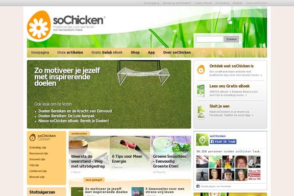 Sochicken-with-love WordPress theme, websites examples using