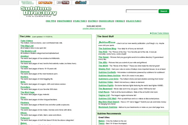 Websites Use The WordPress W_dnd Theme Sublimedirectory Com