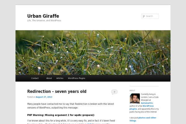 Twenty Eleven WordPress theme websites