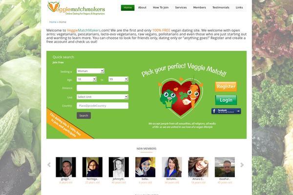 Free vegetarian dating websites
