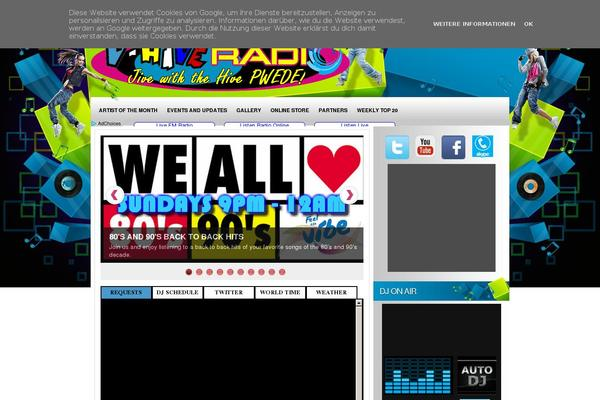 Wordpress Template For Radio Station - Wordpress Themes Gala, The ...